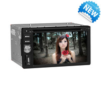 JOYOUS 2 Din universal car DVD player with high-definition touch screen, built-in GPS/ATV,support BT/Radio/RDS/APE/1080P video