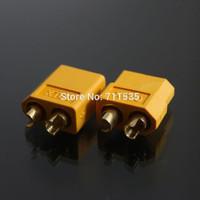 XT60 XT-60 Male Female Bullet Connectors Plugs For RC Lipo Battery