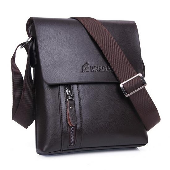 New arrival wholesale!! Brand Men Designer Mens Bag Fashion 100% Genuine Leather Bags Briefcase Business Shoulder Messenger Bags(China (Mainland))