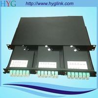 72 core 1u rack mounted MPO patch panel