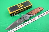Browning 332 Small Wood Handle Pocket Folding knife Freeshipping
