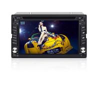 JOYOUS 6.2 inch 2 Din universal car DVD player, built-in GPS navigation/Analog TV,support BT/Radio/RDS/APE/vihicle audio system