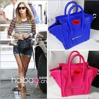 New arrival Women messenger bag Women's fashion leather handbags mini smile shoulder bags brand high quality Y0207