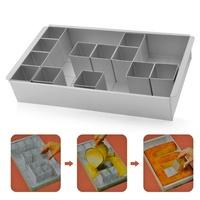 Metal Aluminum Any Alphabet Letters Number Cake Tin Pan Create Decorating Fondant Baking Mold