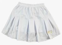 Li Ning Pleated Tennis Skirt Women Tenis Feminino 2014 Badminton Skort Tennis Skirt With Underpants White/Black Free Shipping