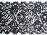 29 cm x 3 m full eyelash raschel french lace trim garment accessories material
