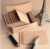 Free Shipping 200pcs Retro Standard Gift Handmade Soap Tag Cardboard DIY Small Label Kraft Paper Blank Word Cards