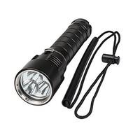 LustFire DV08 3xCREE XM-L2 3600 Lumens Push Forward Magnetron LED Diving Flashlight (2x26650)