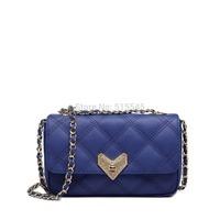 Women's Fashion Lingge Shoulder Bag With Free Gift