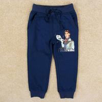 2014 Popular Frozen Children Girls Pants Long Pants Cartoon Printed Elastice Waist Children Casual Pants Autumn Kids Pants