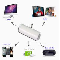 1 Pcs 3.5mm Mini Portable Stereo Speaker For iPhone for LG for Nexus 5 for S4 for i9500 for N9000 for MP4