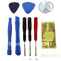 Holiday Sale! 10sets/Lot Repair Opening Tool Kit With 5 Point Star Pentalobe Torx For iPhone 4 4G