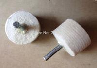 20pcs 40mm x Shank 6mm wool BUFFING Grinding Wheels Polishing Abrasive dremel rotary tool Electric Grinder Milling