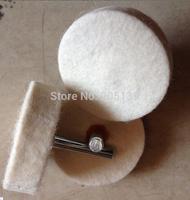 20pcs 50mm x 10mm x Shank 6mm wool BUFFING Grinding Wheels Polishing Abrasive dremel rotary tool Electric Grinder Milling