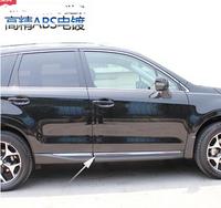 elegant design 2013-2014 for SUBARU foreste car exterior accessories Body Side Molding rubbing strip 4pcs