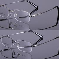 Myopia eyeglasses frame titanium alloy memory frame big box eyeglasses frame Men myopia glasses frame