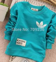 Free shipping Fashion Spring/Autumn children clothing O neck t shirt fashion boys girls Long sleeve t shirt children's clothes