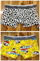 100% male cotton panties trunk sexy panties boxer shorts sexy panties student panties