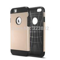 10pcs SLIM ARMOR SPIGEN SGP Case For Apple iPhone 6 Hard Back Cover Luxury TPU Plastic Cases For iPhone 6 (4.7inch)