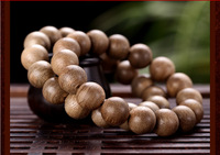 14mm*16pcs Malaysia natural aloes beads bracelet hand string agarwood beads aloeswood beads for women