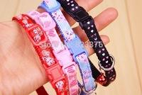 100Pcs/Lot Cartoon Puppy Dog Collars Pet Collars Free Shipping