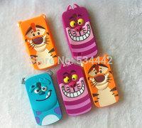 1- 3D Cartoon Animal Monsters Sulley Tigger Marie Alice Cat Silicone Case Cover For Samsung Galaxy S3 mini S4 mini i8190 i9190