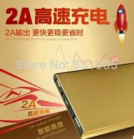 20000 mah double usb ultra-thin portable mobile power bank