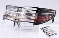 TR-90 Eyeglass frame Half-Rim Glass Man Women Spectacles Gold Silver Coffee Gray Black Blue Optical