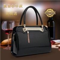 2014 new European and American fashion crocodile pattern handbag shoulder bag Messenger bag ladies handbag