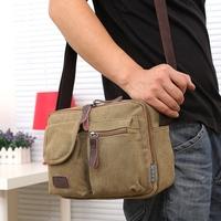 2014 New Fashion Men Women Canvas Messenger Shoulder Bag Vintage Desigual Brand School Military Postman Casual Bag M01001