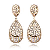 2014 aaa zircon earrings girlfriend gift gifts quality earrings