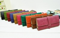 New arrival fashion brief ol pu long wallet free shipping