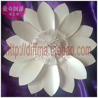 Wedding arrangement of flowers adornment paper flowers Large props paper flowers Decor paper flowers 2feet