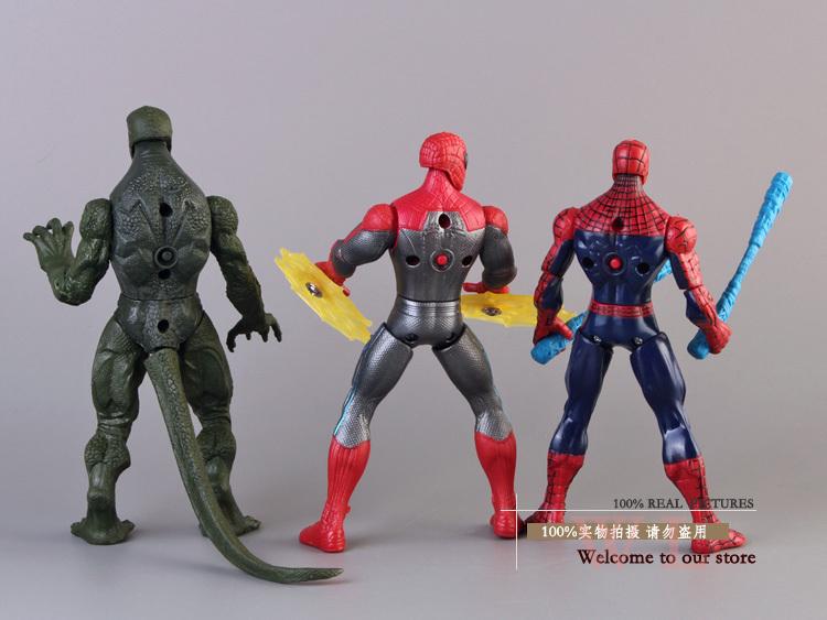 The Amazing Spider Man Spiderman vs Lizard Spider Man Villain Lizard