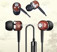 TAKSTAR In-Ear Wooden Hi-Fi Dynamic Monitor Monitoring Headphones,Earphones,Metal Alloy,Deep Bass,For iPhone,iPad,iPod,Samsung