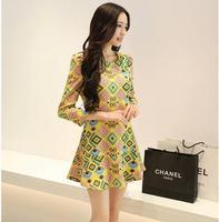 Vestidos Casual Free Shipping Limited Special Offer Natural Vestido De Festa Vestido Summer Dress 2014 Fashion Women Conffino