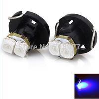 New car styling T4.2 12V SMD 3528 2 LEDs White Light Bulbs for car interior light Instrument / Reading / Side Marker Width Lamp