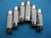 15 Pcs Ceramic Fuse Powder Filled Cartridge Cylindrical 380V 20A 10mm x 38mm