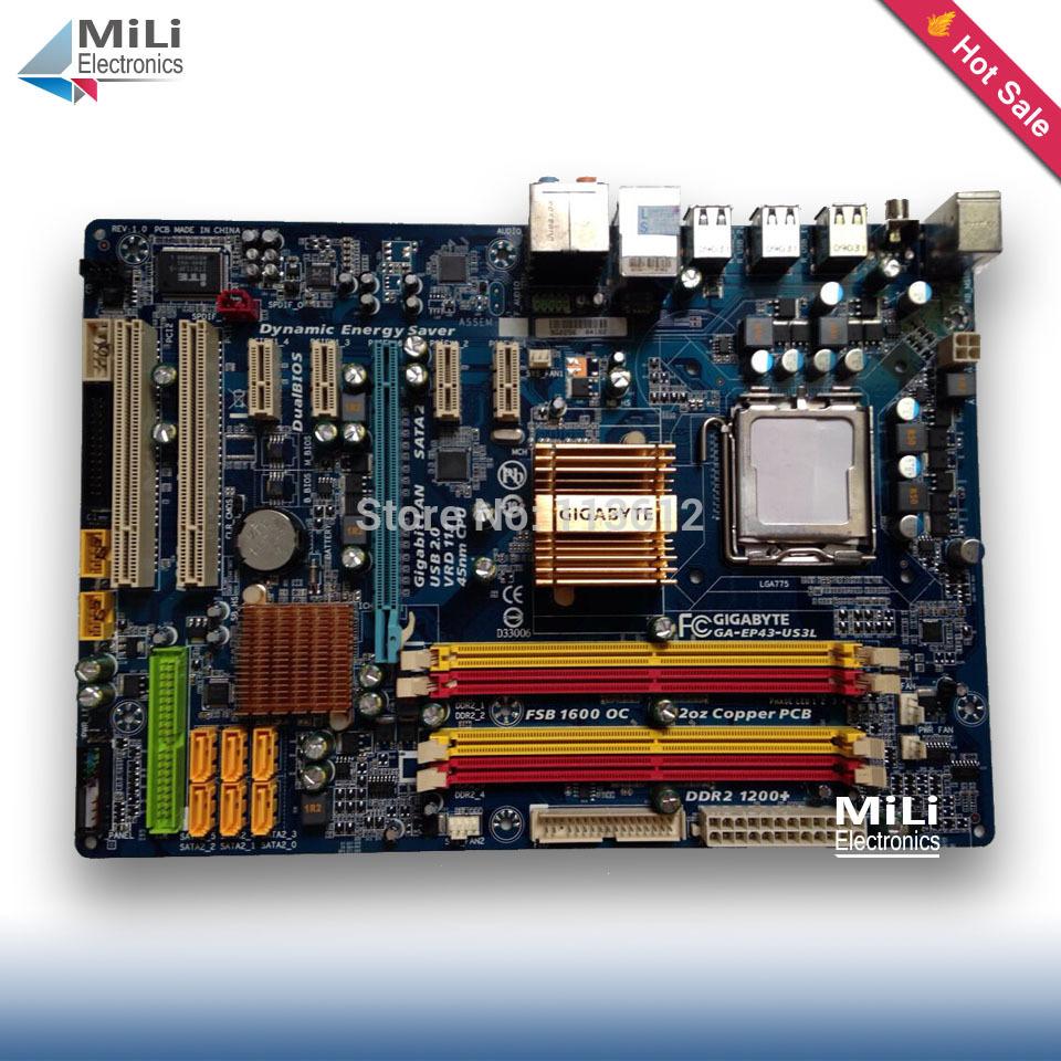 Gigabyte ga-ep43t-ud3l v11 motherboard skt 775 ddr3 intel p43