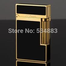 Горячие продаж 100% новый st мемориал stdupont легче зажигалка ветрозащитный медь яркий звук с подарок коробка