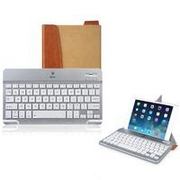 Baseus WP Ios Android Universal Aluminium Bluetooth Keyboard Flip Case Cover