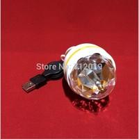 Wholesale DC5V 10PCS RGB LED Light Colorful Rotating Light Bulb for Party DJ Energy-Saving Lamps