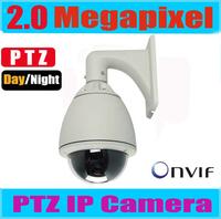 2MP PTZ IP Camera Dome Camera outdoor Waterproof 2.0 megapixel IP PTZ camera High speed IP Camera, 20x Optical Zoom