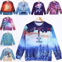 Shipping free new fashion 2014 men/women's sweatshirts 3D Harajuku print cartoon Adventure Time funny pullover hoodies sudaderas