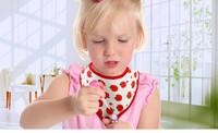 Free Shipping 3pcs/set New Cartoon Cotton Baby Clothing Girls Baby Bibs Towel Bandanas Chiscarf ldren Cravat Infant Towel