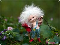 Bjd doll Special Mini bjd doll 1/12 Bjd doll Fairyland realpuki two face bjd sd doll free eyes makeup and free shipping