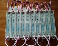 High Lumen Rectangle Waterproof IP65 12V 3LEDs SMD 2835 Red LED Module Light Red