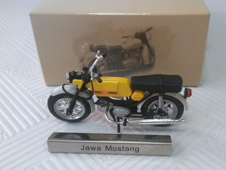 French ATLAS Jawa Mustang mini alloy motorcycle electric bike model toys(China (Mainland))