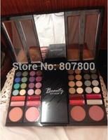 High Quality Brand Maquiagem Eye Shadow Powder Blush Palette 44 Color Cosmetics Suit Makeup Eyeshadow With Sponge & Mirror