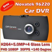 "Car Dvr FHD 720P Full FHD 2.7"" HD Screen+ 30FPS+G-Sensor+Night Vision+140 Wide Angle Lens Car Camera Video Recorder"
